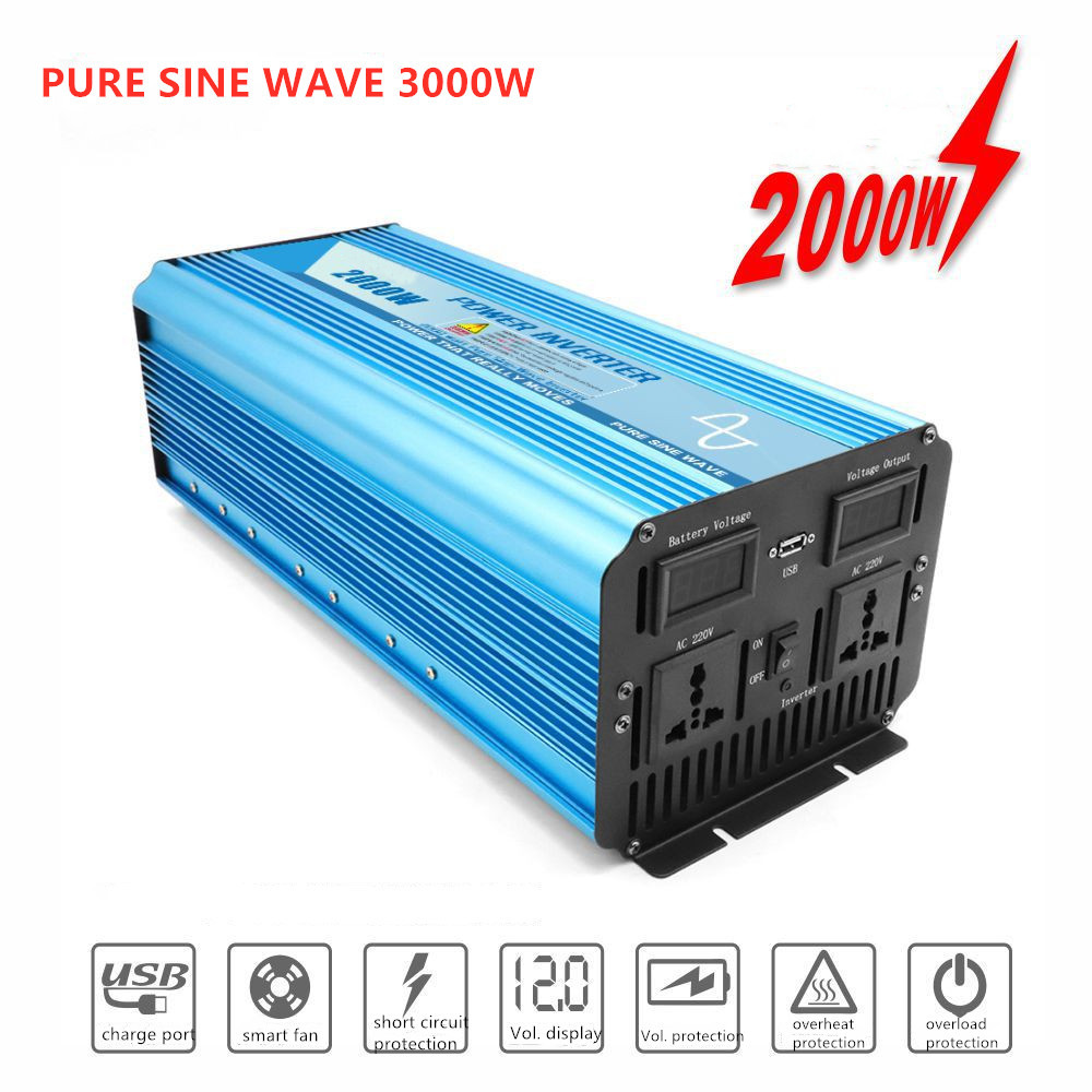 Fully 3000W Pure Sine Wave Power Inverter